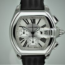 Cartier Steel 40mm Automatic 2618 pre-owned