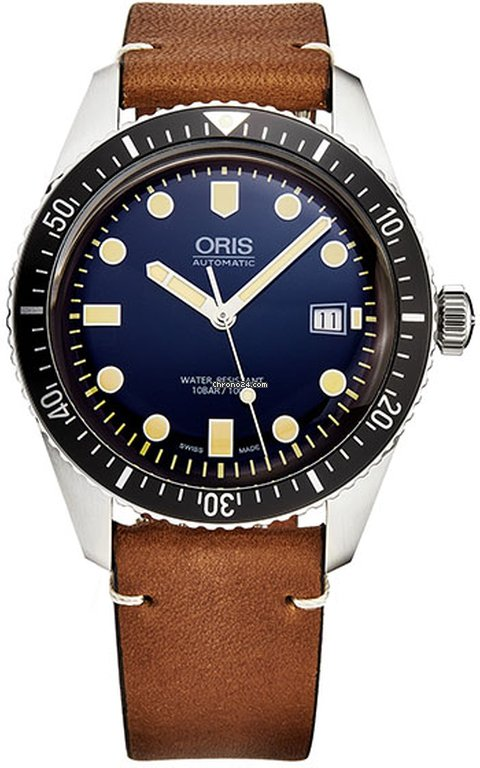 Oris Divers Sixty Five 73377204055LS45 new