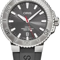 Oris Aquis Date new Automatic Watch with original box 73377304153RS