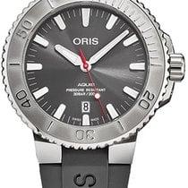 Oris Steel Automatic Grey new Aquis Date