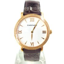 Chopard Classic Rose gold 34mmmm White No numerals