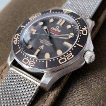 Omega Seamaster Diver 300 M Titane 42mm Noir Sans chiffres France, Puteaux