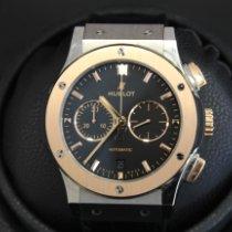 Hublot Classic Fusion Chronograph Gold/Stahl 42mm Schwarz Keine Ziffern