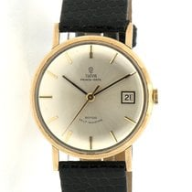Tudor Yellow gold Automatic 34mm pre-owned Prince Date