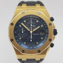 Audemars Piguet Royal Oak Offshore Chronograph Gelbgold 42mm Schwarz Keine Ziffern