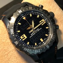 百年靈 Chronospace Military M7836622/BD39 非常好 鋼 46mm 石英