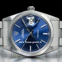 Rolex Oyster Precision Acero 34mm Azul