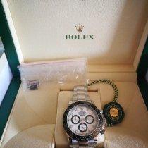 Rolex Daytona Zeljezo 40mm Bjel Bez brojeva
