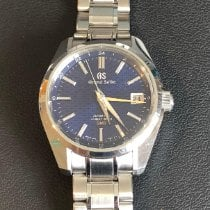 Seiko Grand Seiko pre-owned 40mm Blue GMT Steel