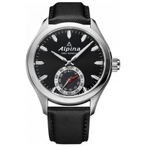 Alpina Horological Smartwatch Acero 44mm Negro Sin cifras