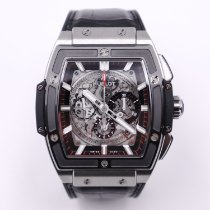 Hublot Spirit of Big Bang Titanio Plata Sin cifras