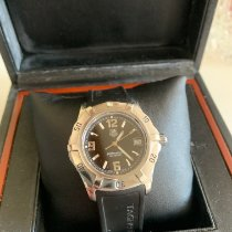 TAG Heuer 2000 Steel Black Arabic numerals