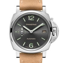 Panerai Luminor Due Acero 38mm Arábigos