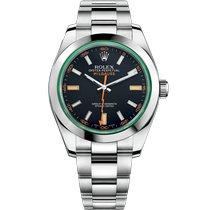 Rolex 116400GV-0001 Staal 2021 Milgauss 40mm nieuw