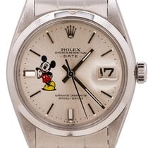 Rolex Oyster Perpetual Date Steel 34mm Silver United States of America, California, West Hollywood