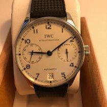 IWC Portugieser Automatik Stahl 42mm Silber Arabisch Deutschland, Würzburg