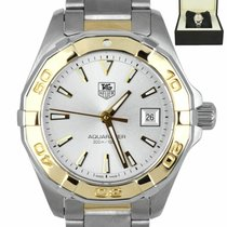TAG Heuer Aquaracer Lady Gold/Steel 27mm Silver