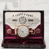 A. Lange & Söhne Very good Rose gold 50mm Manual winding