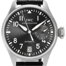 IWC White gold Automatic 46mm pre-owned Big Pilot