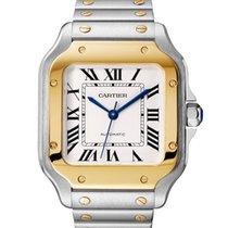 Cartier nuevo Automático 41.9mm Acero y oro Cristal de zafiro