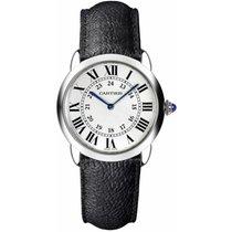 Cartier nuevo Cuarzo 29mm Acero Cristal de zafiro