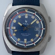 Lip Nautic Ski Steel 37mm Blue No numerals