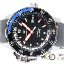 IWC Aquatimer Deep Two Acciaio 46mm Nero Senza numeri