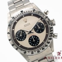 Rolex Daytona Steel 37mm White No numerals