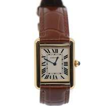 Cartier Tank Solo Yellow gold 25mm White Roman numerals United States of America, New York, New York