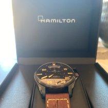 Hamilton Khaki Pilot Day Date Steel 42mm Black Arabic numerals United States of America, California, Alameda