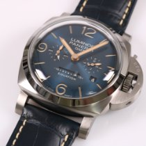 Panerai Luminor 1950 8 Days GMT new 2020 Manual winding Watch with original box and original papers PAM00670