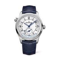Jaeger-LeCoultre Master Geographic Otel 39mm Argint Arabic