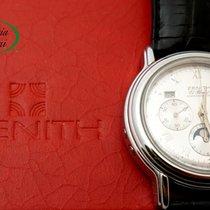 Zenith El Primero Chronomaster Stahl 40mm Silber Römisch