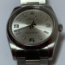 Rolex Oyster Perpetual 36 Steel 36mm Silver Arabic numerals United States of America, New Jersey, Fair Lawn
