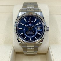 Rolex Sky-Dweller Steel 42mm Blue No numerals United States of America, Texas, Dallas