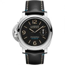 Panerai Luminor Marina 8 Days Acier 44mm Noir Arabes