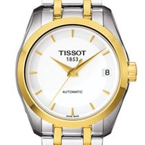 Tissot Couturier Steel White