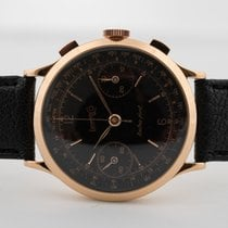 Eberhard & Co. Extra-Fort Rose gold 39mm Black Arabic numerals