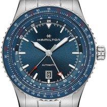 Hamilton Khaki Aviation Steel 44mm Blue