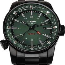Traser Steel 46mm Quartz 109525 new