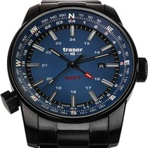 Traser Steel 46mm Quartz 109524 new