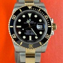 Rolex Submariner Date Gold/Stahl 40mm Schwarz Keine Ziffern Österreich, Wien