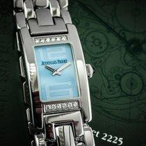 Audemars Piguet Promesse Stahl 20mm Blau Arabisch