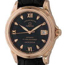 Omega De Ville Co-Axial Rose gold 37mm Blue Roman numerals United States of America, Texas, Austin