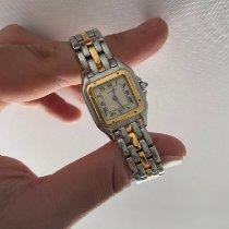Cartier Acero y oro 22mm Cuarzo Panthère usados