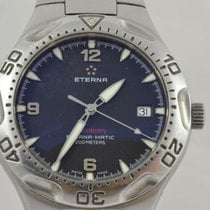 Eterna Steel 39mm Automatic 1610.41 pre-owned