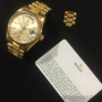 Rolex Day-Date 36 Or jaune 36mm Or Romains