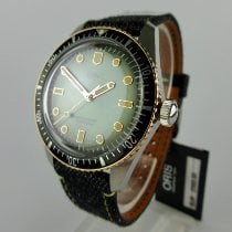 Oris new Automatic Central seconds Luminous hands Only Original Parts Luminous indices 40mm Steel Sapphire crystal