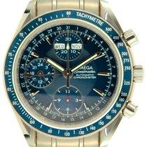 Omega Speedmaster Day Date Steel 40mm Blue