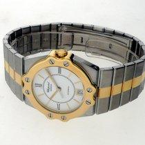 Chopard St. Moritz Gold/Steel 32mm White Roman numerals